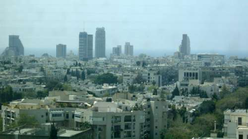 Skyline and Cityscape of Tel Aviv, Israel free photo
