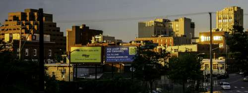 Skyline of Downtown Ann Arbor, Michigan free photo