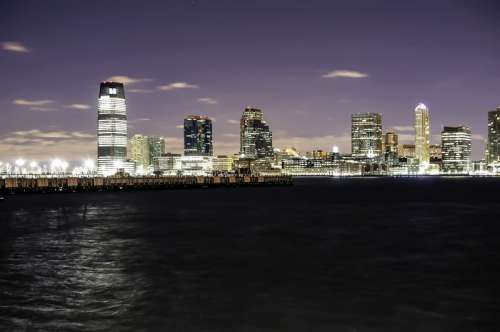Skyline of Newark, New Jersey free photo