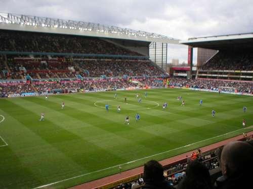 Soccer Game in Villa Park in Birmingham free photo