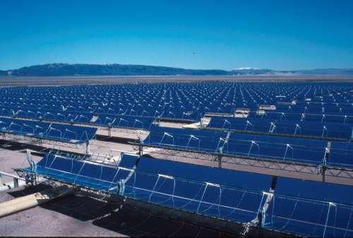 Solar Farm in San Bernardino County, California free photo