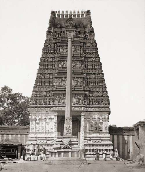 Someshwara Temple in Bangalore, India free photo