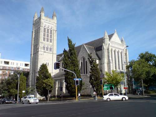 St Matthew-in-the-City, an Anglican Church in Auckland free photo