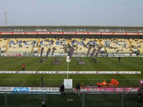 Stadio Alberto Braglia in Modena, Italy free photo