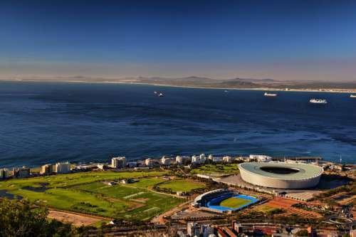 Stadium in Cape Town, Africa free photo