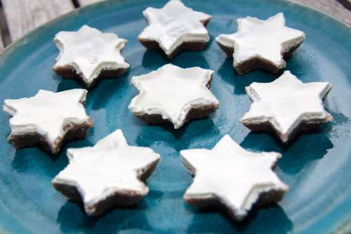 Star Shaped Cookies free photo