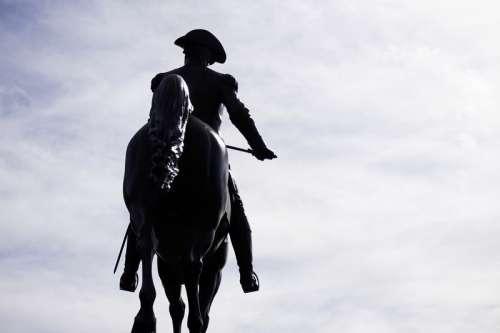 Statue of Paul Revere, American Revolution free photo