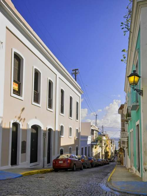 Streets of old San Juan, Puerto Rico free photo
