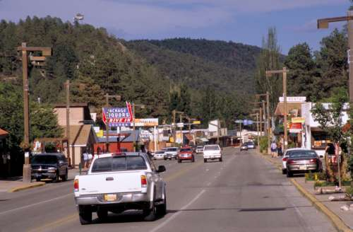 Streets of Ruidoso, New Mexico free photo