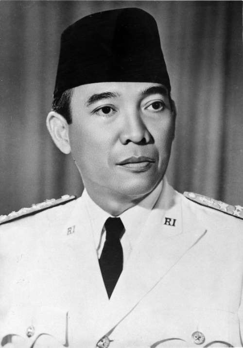 Sukarno, the founder and first president of Indonesia free photo