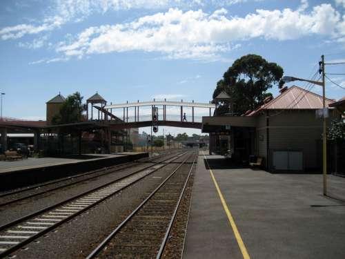 Sunbury Railway Station in Victoria, Australia free photo