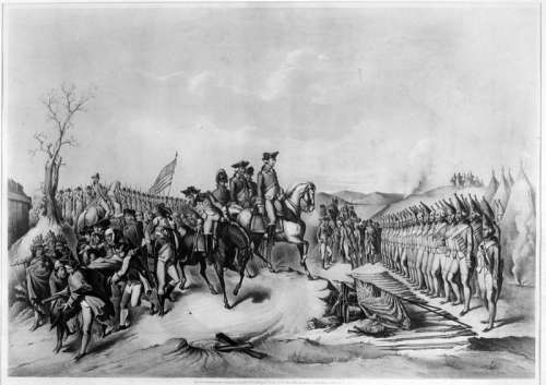 Surrender of the Hessians at Trenton, New Jersey free photo