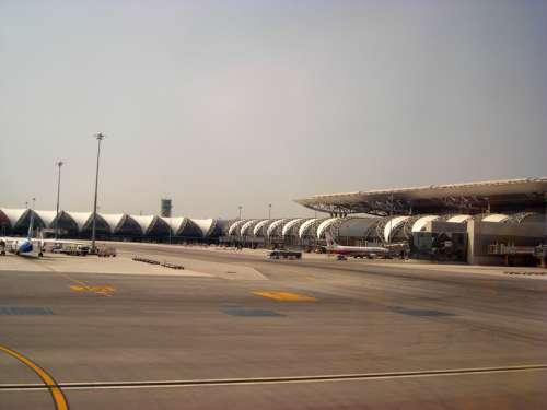 Suvarnabhumi International Airport near Bangkok, Thailand free photo