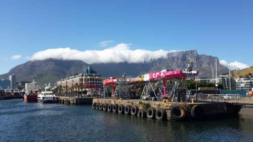 Table Mountain in Cape Town, South Africa free photo