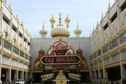 Taj Mahal Casino in Atlantic City, New Jersey free photo