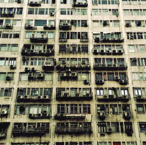 Tall Apartment building in New Delhi, India free photo