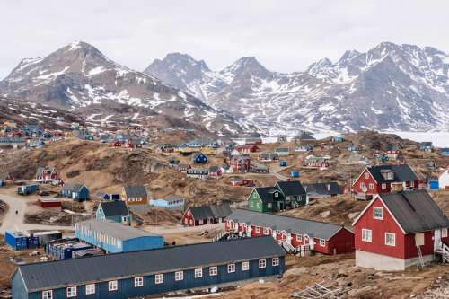Tasiilaq, Greenland free photo