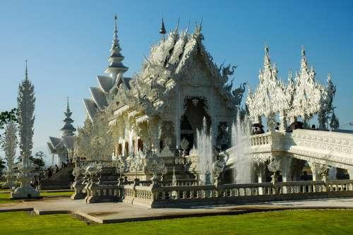 Temple in Bangkok, Thailand free photo