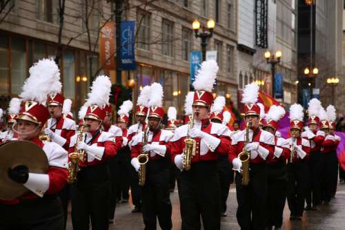 Thanksgiving March parade in Chicago, Illinois free photo