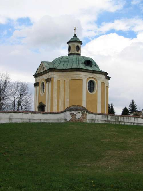 The baroque Inkey chapel in Nagykanizsa, Hungary free photo