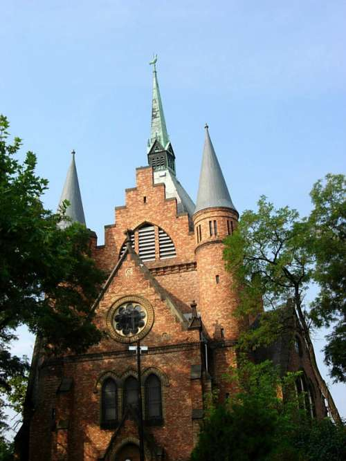 The Calvinist Church in Szolnok, Hungary free photo