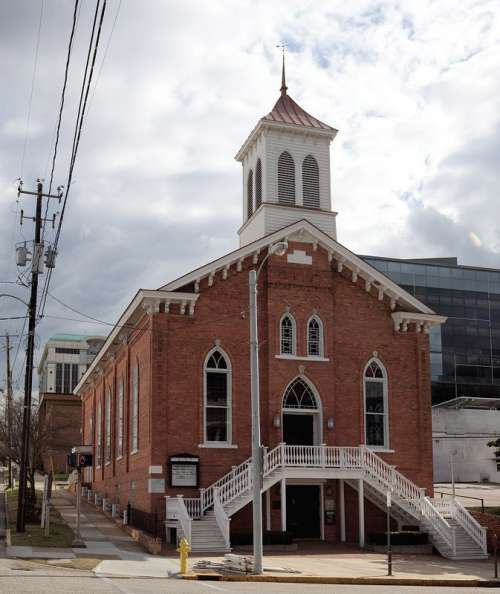 The Dexter Avenue King Memorial Baptist Church in Montgomery, Alabama free photo