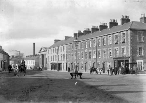 The Edenderry area of Portadown in the early 1900s in Ireland free photo