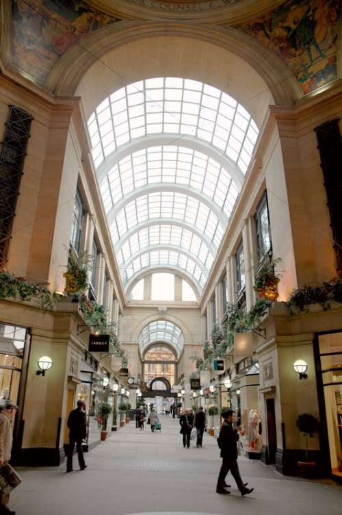 The Exchange Arcade inside the Council House in Nottingham, England free photo