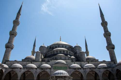 The Hagia Sophia in Istanbul, Turkey free photo