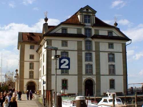 The Kornhaus Building in Rorschach, Switzerland free photo