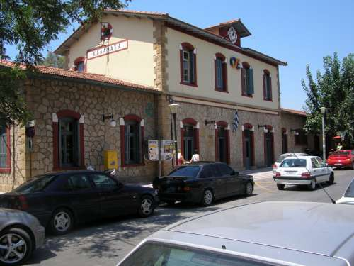 The Railway Station in Kalamata, Greece free photo