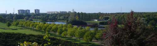 The Sausset departmental park in Aulnay-sous-bois, France free photo