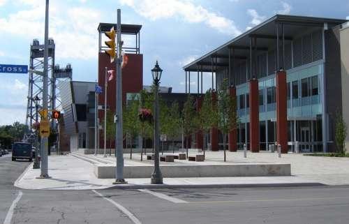 The Welland Civic Square in Ontario, Canada free photo