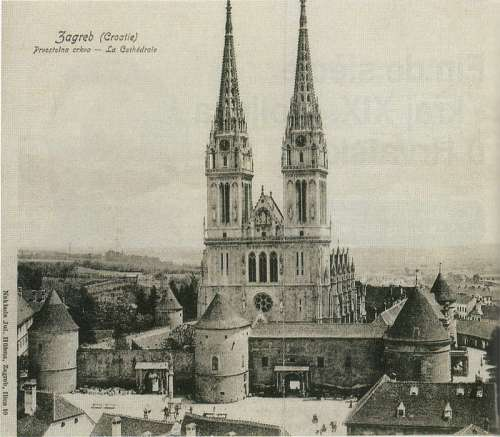 The Zagreb Cathedral, Croatia free photo