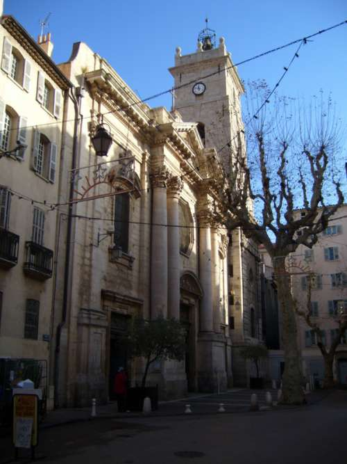 Toulon Cathedral building in France free photo