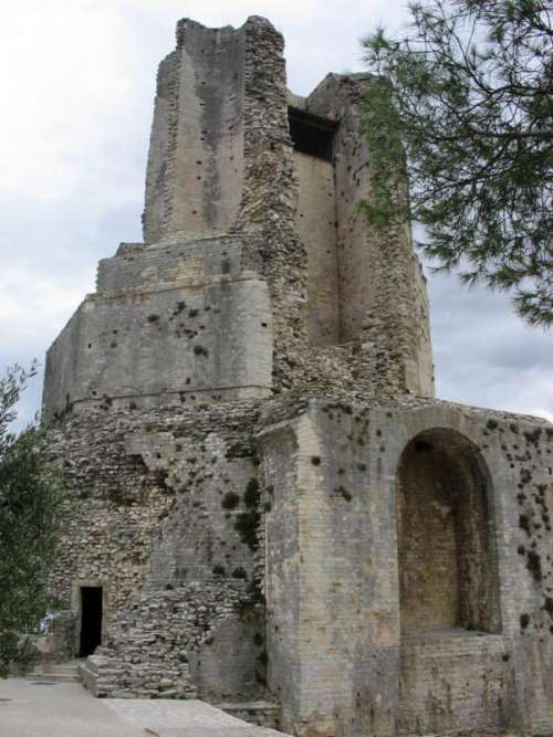 Tour Magne Ruins in Nimes, France free photo