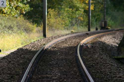 Train Track in Luxembourg free photo