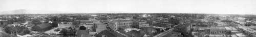 Tucson, Arizona Panorama in 1909 free photo