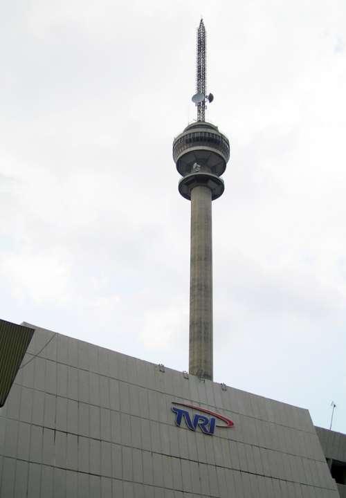 TVRI Tower in Jakarta, Indonesia free photo