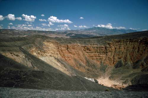 Ubehebe Crater at Death Valley National Park, Nevada free photo