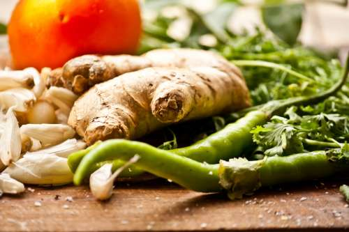 Vegetables for Herbs and Spices free photo