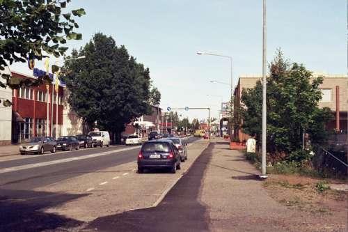 View from Lauttakylä, central Huittinen, Finland free photo