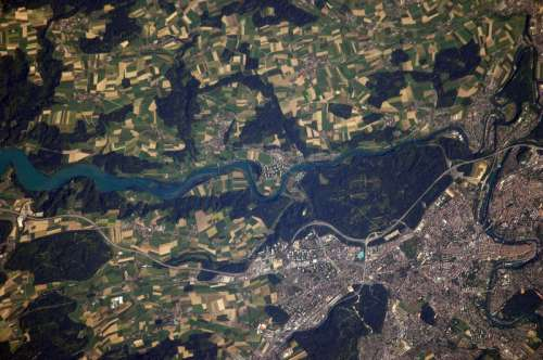 View of Bern of the ISS in Switzerland free photo