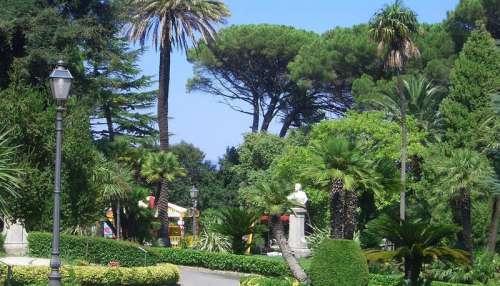 Villa Margherita in Catanzaro, Italy free photo