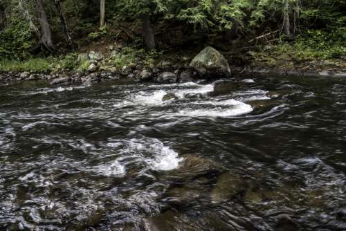 Whiskey Rapids at Algonquin Provincial Park, Ontario free photo