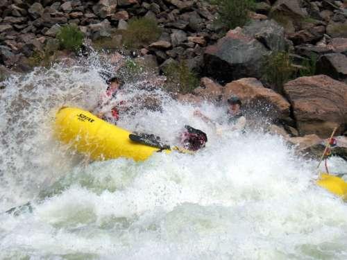 Whitewater Rafting at Grand Canyon National Park, Arizona free photo