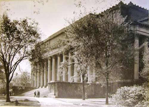 Widener Library at Harvard University at Cambridge, Massachusetts free photo