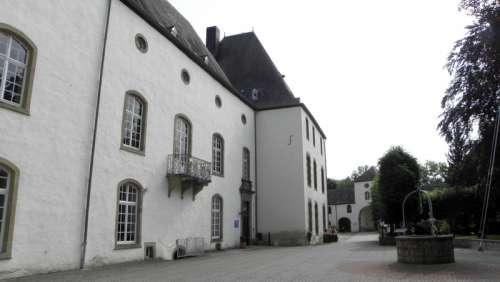 Wiltz Castle City in Luxembourg free photo