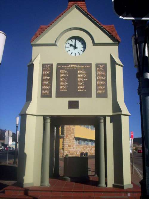 World War I memorial in Mittagong in Western Australia free photo