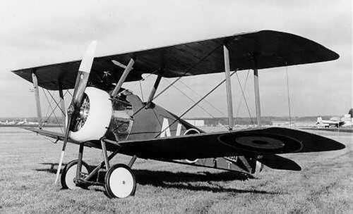 World War I Sopwith Camel fighter plane free photo